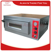 PA4 Electric Professional Single deck Stone Pizza Oven for commercial use