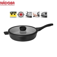 Deep frying pan with non-stick coating with lid 28 cm NADOBA series GRANIA