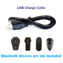 1 pc USB Charing Cable Suitable for  FDCVB T-COMVB TCOM-SC COLO KIE Motorcycle Bluetooth Interphone Headset Helmet Intercom