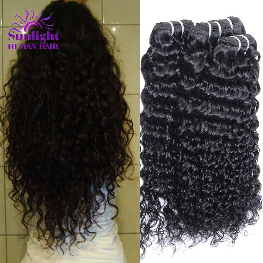 Indian Kinky Curly Virgin Hair 4pcs/lot Sunlight Hair Company Indian Deep Wave Curly Hair Weave Websites Indian Virgin Hair<br><br>Aliexpress