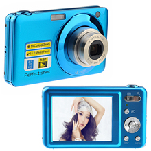 "3Pcs/Lot DHL Free New 20Mp Max 5X Optical Zoom Digital Camera 2.7"" Screen 720P HD Video Camera 9MP CMOS Sensor 800Mah Li-Battery"