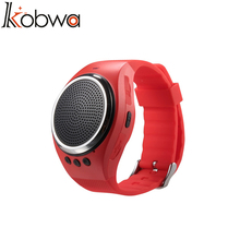 kobwa 2017 New Design Sport Running Music Watch Speakers RS09 Bluetooth Bracelet Wristband with Speaker Dual Bluetooth speaker