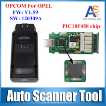 2016 Opcom Op Com Op-com Usb Interface OBD2 CAN BUS Opel Diagnostic Tool Scanner Latest Version V1.59 For G M,Opel Series,SAAB