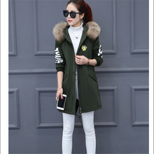 High-grade Women basic coats dress Women tops Students School uniforms Hooded MAO collar Lambs wool  Autumn Winter Coat BN1728