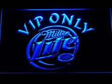 405 Miller Lite VIP Only Beer LED Neon Light Sign Wholesale Dropshipping On/ Off Switch 7 colors DHL