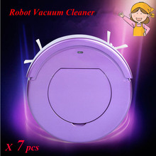 7pcs/lot KRV205 Intelligent sweeping robot Household Automatic Efficient Vacuum Cleaner ultrathin dust collector