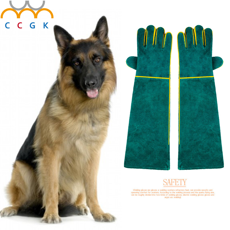 High quality Anti-bite gloves tactical animal training  for dog cat snake bite anti-scratch protective Training Feeding gloves<br>