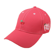 2017 New Arrival Spring Leisure  Fruit Embroidery Hat  Strawberry Banana Cherry Orange Peach  Baseball Cap For  Women and men