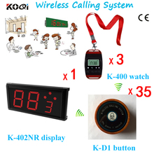 Top Popular Safe Delivery Fashion Nice Design Service Wireless Waiter Call System(China)