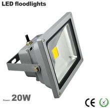 Free ship China factory Wholesale outdoor led flood light 20W IP65 waterproof 3 years warranty CE Rohs 100LM/W Epistar chip