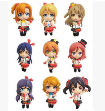 Anime Love Live! School Idol Project PVC Action Figures Toys 9pcs/set T3112