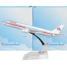 American Airlines Boeing 777 16cm alloy metal model aircraft child Birthday gift plane models Free Shipping(China)
