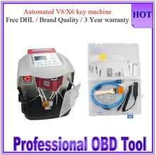 Free DHL Automatic V8 X6 Key Cutting Machine Brand quality Best Price V8/X6 Key Cutting Machine Car Key Maker V8/X6 in Hot Sale