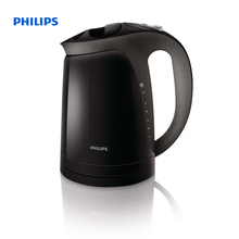 Philips Kettle 1.7 L 2400 W Water level indicator Raven black Hinged lid HD4699/20