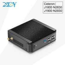 Factory Mini PC X30 2830 J1800 2930 J1900 HDMI+VGA USB3.0 j1900 linux mini computer Metal Fanless win7 win8 LlINUX