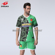 Hot sale design,Free shipping,Top quality,fully sublimation custom soccer jersey for men,V neck