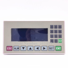 Free Shipping MD204L Text display panel display screen HMI with RS232 / RS485 / RS422 for various PLC(China)