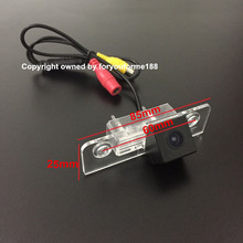 Night Vision Car Rear View Camera For Ford Fiesta ST / Classic / For Ikon 2002~2008 / Reverse Camer / License Plate Lamp OEM