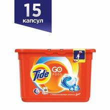 Washing Powder Capsules Tide Touch of Lenor Fresh Pods (15 Tablets) Laundry Powder For Washing Machine Laundry Detergent