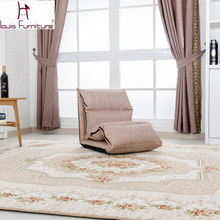 Creative lazy single tatami thickening folding sofa can unpick and wash bay window recreational chair the cloth art bed(China)