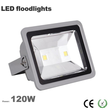 Free ship China factory Wholesale outdoor led flood light 120W IP65 waterproof 3 years warranty CE Rohs 100LM/W Epistar chip