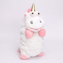 1 PC Baby Toy Despicable Me Fluffy Unicorn Plush Toys CUTE Juguetes Stuffed Toys Figure Doll For Kids Gift
