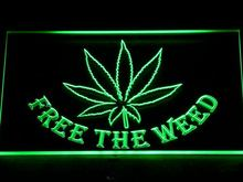 404 Free the Weed  High Life LED Light Sign