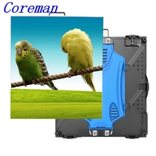 Coreman Indoor Outdoor led screen 1/16,1/8,1/4,1/2,Static LED Screen P2.5,P3,P4,P5,P6,P10 full color led cabinet