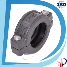 FRP flexible grooved coupling DN80 3'' for tube connection
