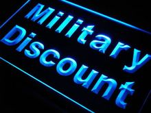 j998 Military Discount LED Neon Light Sign Wholeselling Dropshipper On/ Off Switch 7 colors DHL