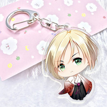 Fancy&Fantasy Anime Yuri!!! on Keychain Pendant Keyring Cute Character Figure Phone Bag Charm