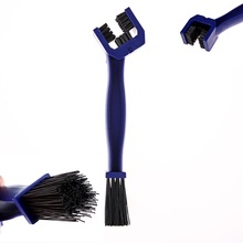 Cycling Motorcycle Bicycle Chain Crankset Brush Cleaner Cleaning Tool Cleaner Blue Car Accessory Drop Shipping 0784