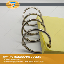 Hot sales 10pcs/package Loose Leaf Book Binder Hinged Rings low price binding ring book ring
