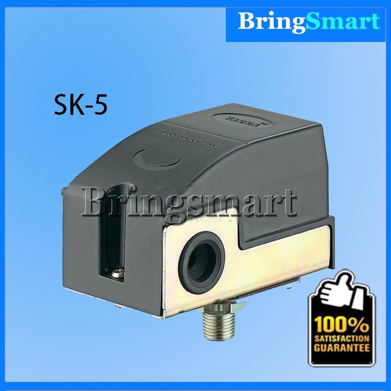 SK-5 1/4 Spray Pump Pressure Switch Automatic Switch Booster Pump Controller For Jet pump Self-priming Pump<br><br>Aliexpress