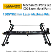 Mechanical Parts Set 1300mm*900mm Single Head Laser Kits Spare Parts for DIY CO2 Laser 1390 CO2 Laser Engraving Cutting Machine
