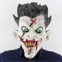New Clown Halloween Cosplay Latex Bloody Zombie Mask Melting Face Vampire Walking Dead Scary Party Mask Mardi Gras Ball Masks