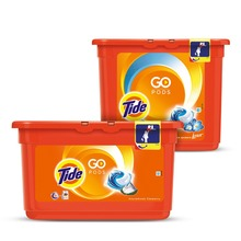 Washing Powder Capsules Tide Alpine Fresh Pods (30 Tablets) + Tide Touch of Lenor Fresh Pods (23 Tablets)