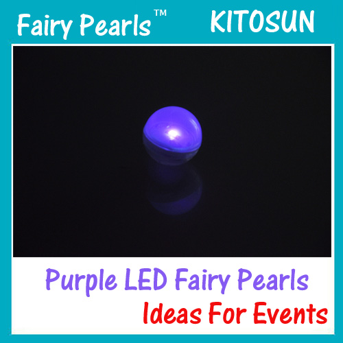 Purple LED Fairy Pearls