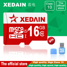 Micro Memory SD Card EVO+ SDHC Xedain 8/16/32/64 GB Memory Card Adapter Official Verification Free Shipping Free Flash For Phone
