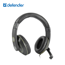 Defender Warhead G-110 Game Headphone 3.5mm Stereo Music Earphone With Microphone Professional Headphone