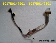 LCD Video Flex Cable For Toshiba Satellite A300 A300D A305 A305D A310 6017B0147901 6017B0147801 without Camera connector