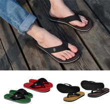 KLV New Arrival Riband Summer Sandals Flip Flops Men Slippers Beach Shoes