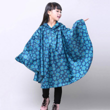 Raincoat Kids Cloak Type Rain Coat Printed Poncho Children Raincoat Rainproof Student Rainsuit Kids Rainwear Poncho Infantil(China)