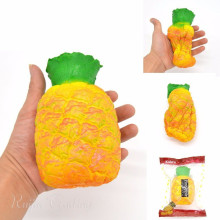 14CM Jumbo Pineapple Squishy Slow Rising Phone Straps Retail Packaging Pendant Charms Fruit Scented Bread Kid Toy Gift