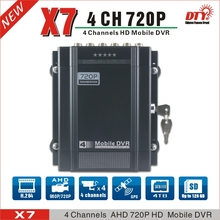 DTY X7G  New arrival AHD MOBILE DVR china factory supply 4ch 720p ahd dvr support 4TB HDD and 128G