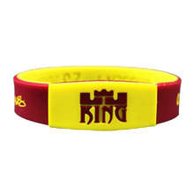 New Lebron James Silicone Wristband Basketball Player Rubber Bracelets Glow In The Dark Silicone Bangle