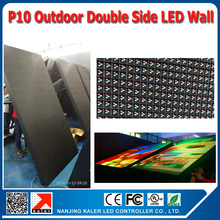 TEEHO P10 Outdoor double side led screen 1R1G1B full color led display wall custom made ledwall Video led screen LED BOARD