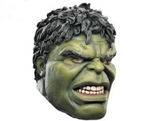 Free Shipping Head Rubber Latex Mask Cartoon Hulk Mask Top Movie Human Mask Hood for Carnival and Party Halloween Cosplay Props