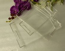 (3 pieces/lot) High Transparency Acrylic Serving Trays