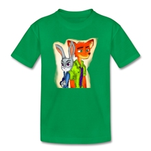Nick and Judy Zootopia Toddler Tee Children Short Sleeve 100% Cotton T-shirts Baby Kids Summer Quality t shirt Boy Girl Clothing